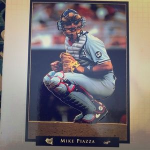 Los Angeles Dodgers vintage 90s Mike Piazza